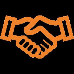icone de poignée de main